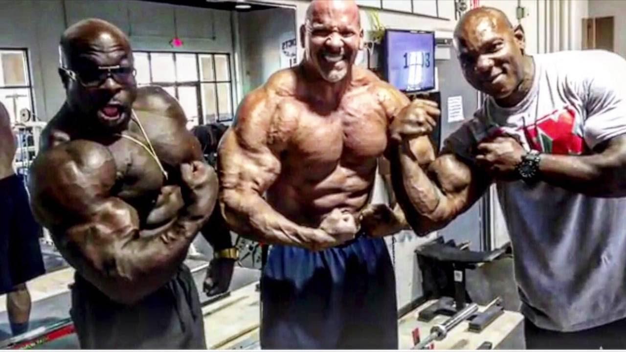 INSANE WORKOUT (Kali Muscle + Flex Wheeler + Stan