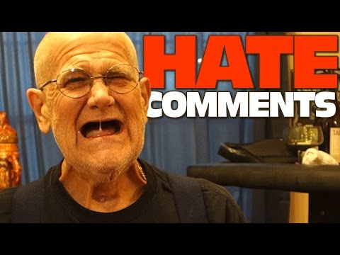 ANGRY GRANDPA READS HATE COMMENTS!!