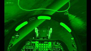 FreeFalcon 5.51: AV-8B Harrier Night Strike (NAPALM) w/Carrier Landing