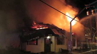 Williston Park Building Fire  Nassau County N.Y. 7/24/14