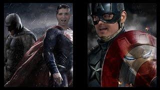 Batman v Superman VS Civil War Trailer Showdown! - CineFix Now