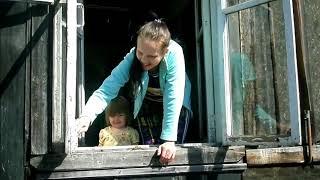 Наконец-то, добралась до окна- Намыла и Покрасила!