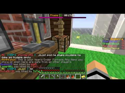 Minecraft Annihilation Díl 1 se Monster20503 CZ