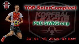 TOP/SolarCompleet 1 tegen PKC/SWKGroep 1, dinsdag 22 januari 2019
