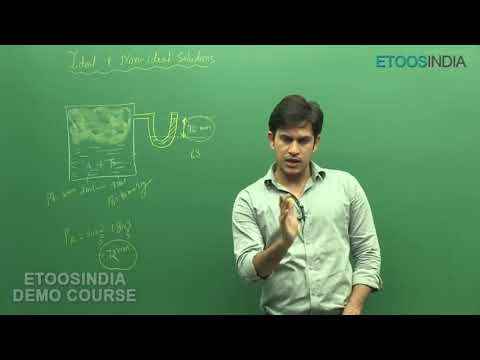 Liquid Solution Part-2 Video Lectures of JEE Main & Advanced by PS Sir