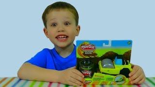 Play-Doh Ролланд каток укладывает асфальт