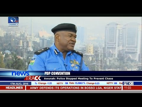 PDP Convention: Police Defend Action Stopping Event In Port Harcourt