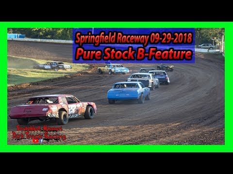 Pure Stock B-Feature - Springfield Raceway - 9-29-2018 - Under The Lights 100