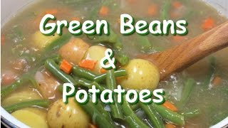 Easy Smoked Turkey Green Beans & Potato Soup Recipe