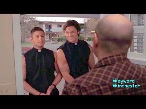Supernatural Season 1 - 7 GAG REEL Supercut   Funniest Supernatural Bloopers Edit