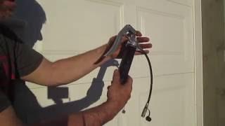 HOW TO SAFELY reĮoad GREASE GUN 3oz refill Small cartridge DIY bearing auto trailer car truck