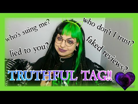 Who Don't I Trust? Have I Lied To You?? Deleting and Blocking! *Truthful Youtuber Tag* // Emily Boo