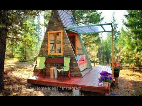 Casal usa projeto de mini casa e constrói sua própria versão por R$ 23 mil
