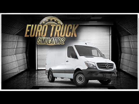 MERCEDES SPRINTER FURGONETA - EuroTruck Simulator 2 - Mods