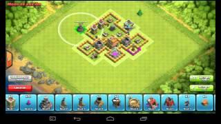 Como hacer una aldea en clash of clans AYT-7