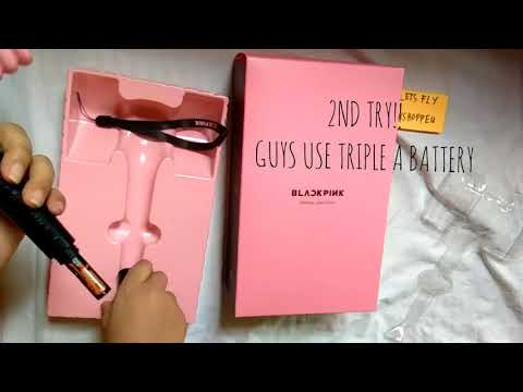blackpink-official-lightstick-unboxing-|-philippines-by-let's-fly-kshoppeu