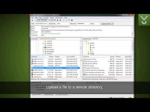 FileZilla - Upload And Download Files To Your FTP - Download Video Previews
