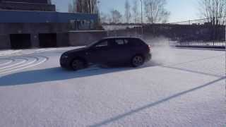 quattro a3 snow drift