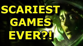 TOP 10 Scariest Games EVER!