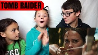 TOMB RAIDER Official Trailer #2 Reaction!!!