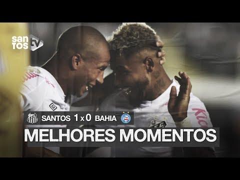 SANTOS 1 X 0 BAHIA | MELHORES MOMENTOS | BRASILEIRÃO (31/10/19)