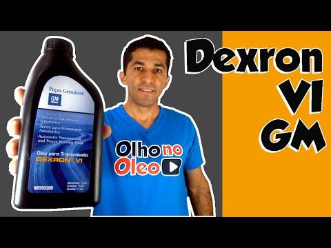 GM Dexron VI para câmbios automáticos - Spin, Cruze, Cobalt