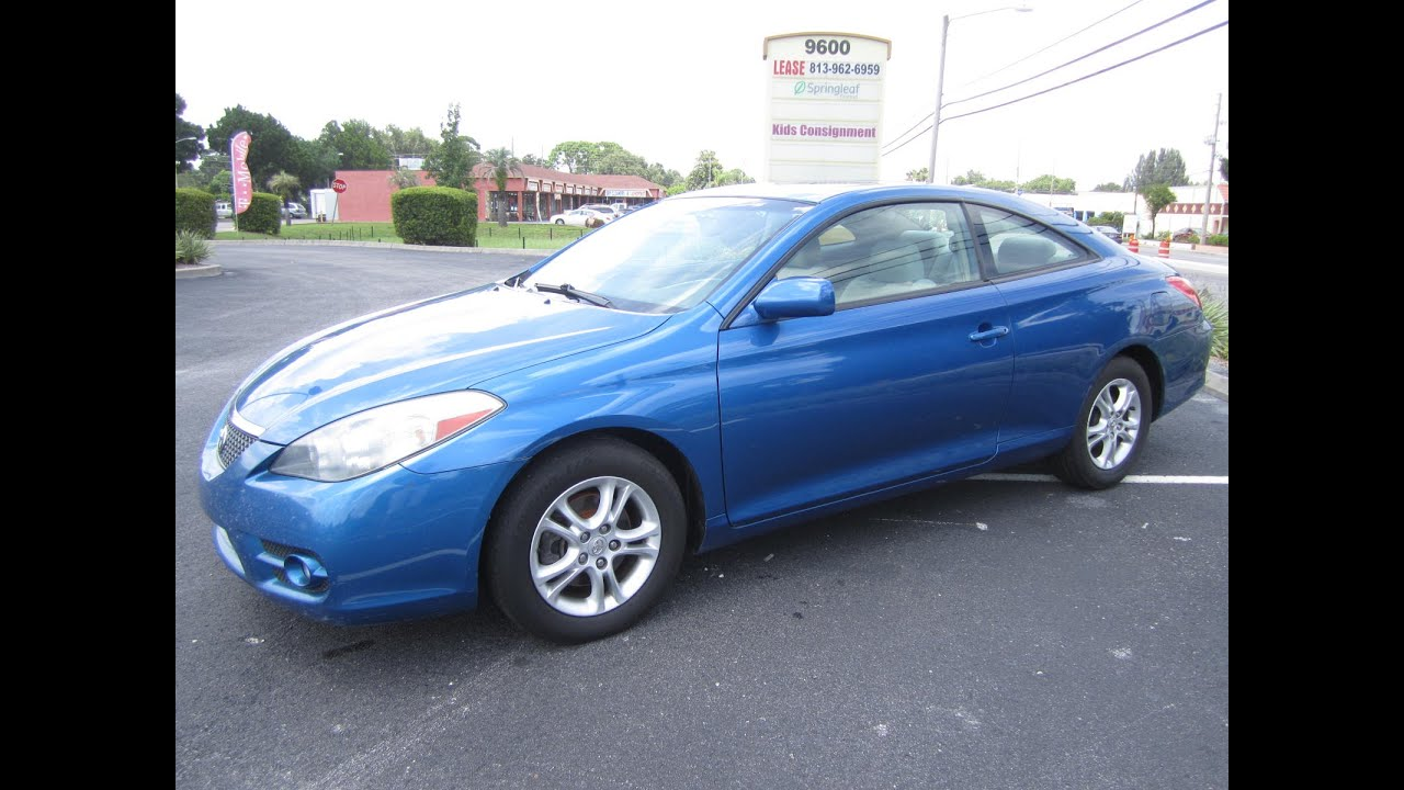 2015 Toyota Camry For Sale >> SOLD 2007 Toyota Solara SE V6 One Owner Meticulous Motors ...