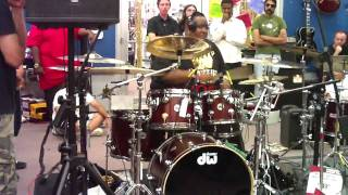 Michael Jackson Startin Somethin, Eric Moore drum tribute