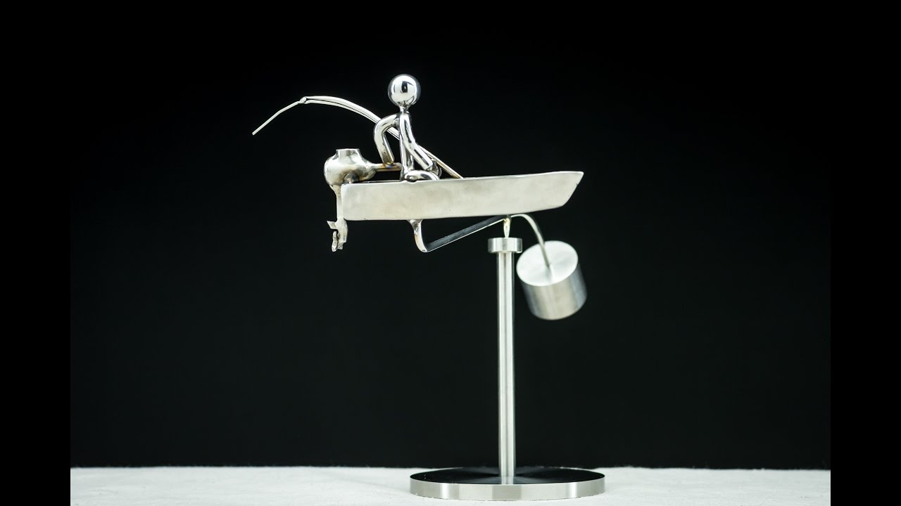 things magnetic desk i sculpture toy desire