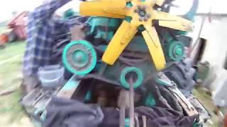 регулировка клапанов двигателя СМД-60_ЯМЗ-236