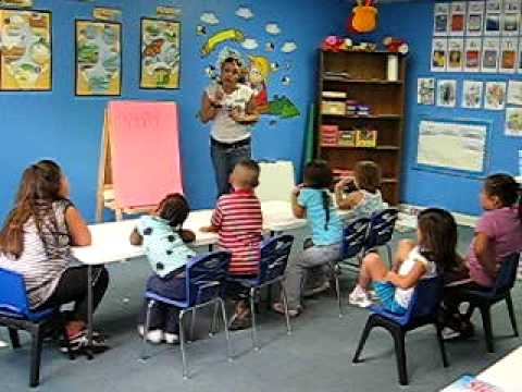 First Step Child Care, Preschool Classroom