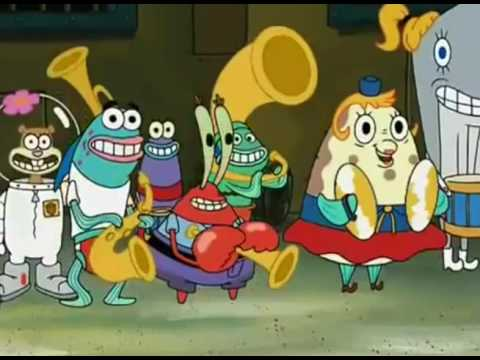 Spongebob Squarepants - Squidward's Band plays too Loud! - Explosion