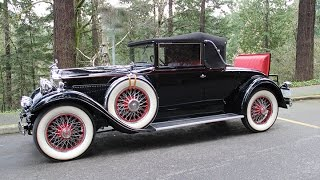 1930 Packard 733 Convertible Coupe. Charvet Classic Cars.