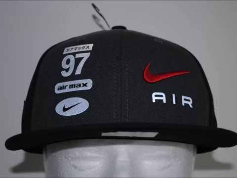 Nike Air Max 97 Logo Cap Product Presentation By Crime Clothing ... c994d80b09f