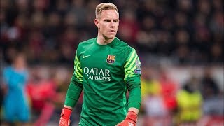 Ter Stegen Saves 2017/18- The Wall