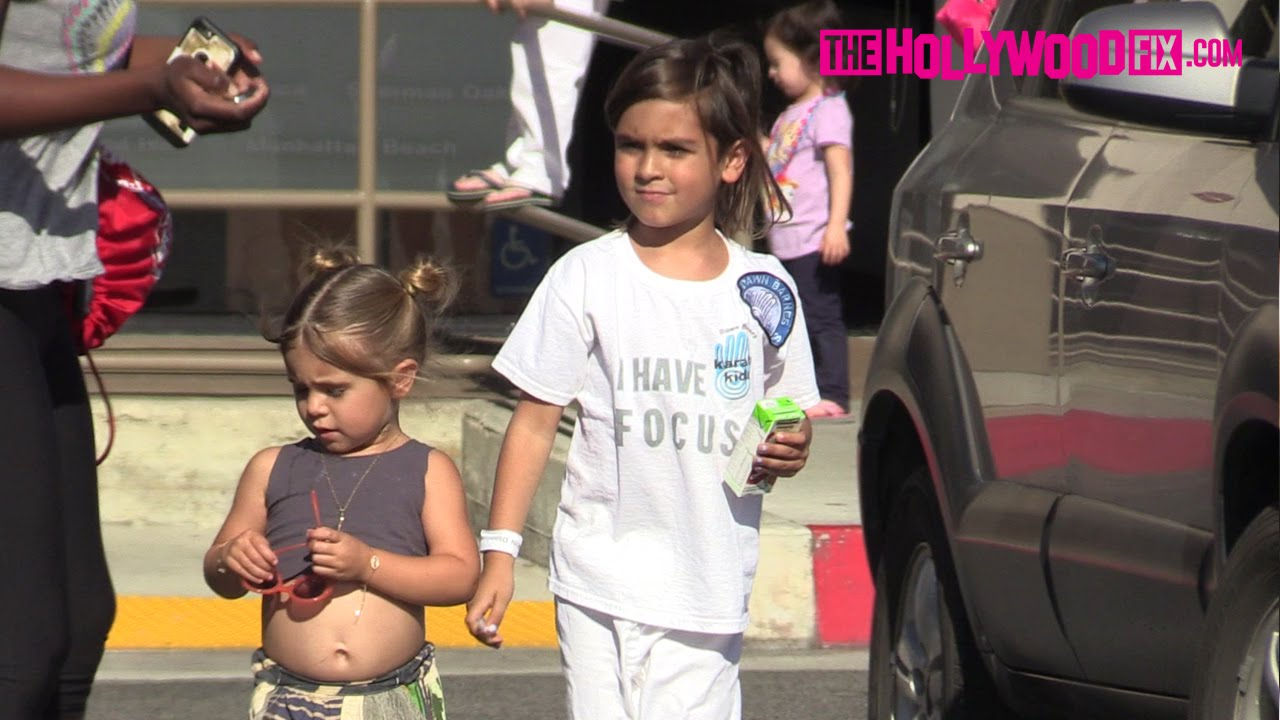 Mason & Penelope Disick Attend Karate Class Together In ...