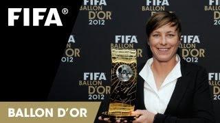 Wambach on winning FIFA Women's World Player of the Year