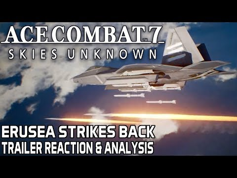 Ace Combat 7 – 2017 Gamescom Trailer Reaction and Analysis