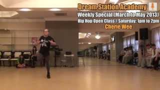 [Hip Hop Open Class 2013] Cherie: Get Cool - Go!