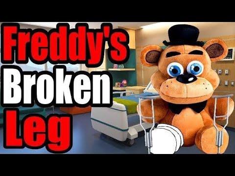 FNAF Plush - Freddy's Broken Leg