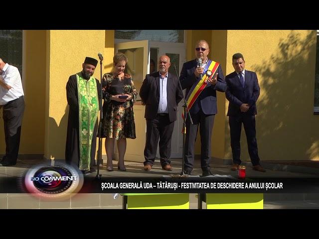 ȘCOALA GENERALĂ UDA – TĂTĂRUȘI - FESTIVITATEA DE DESCHIDERE A ANULUI ȘCOLAR