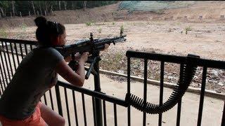 Rifle Range, Cu Chi Tunnels, HCMC, Vietnam - M16 M60 M30 AK47 (On the 650D)