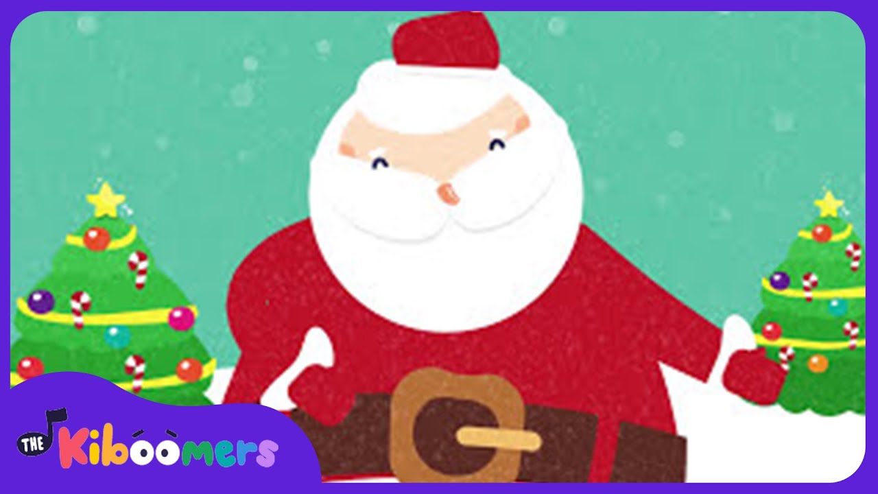 Shake Them Santa Claus Bones | Kids Christmas Songs | Santa Claus ...