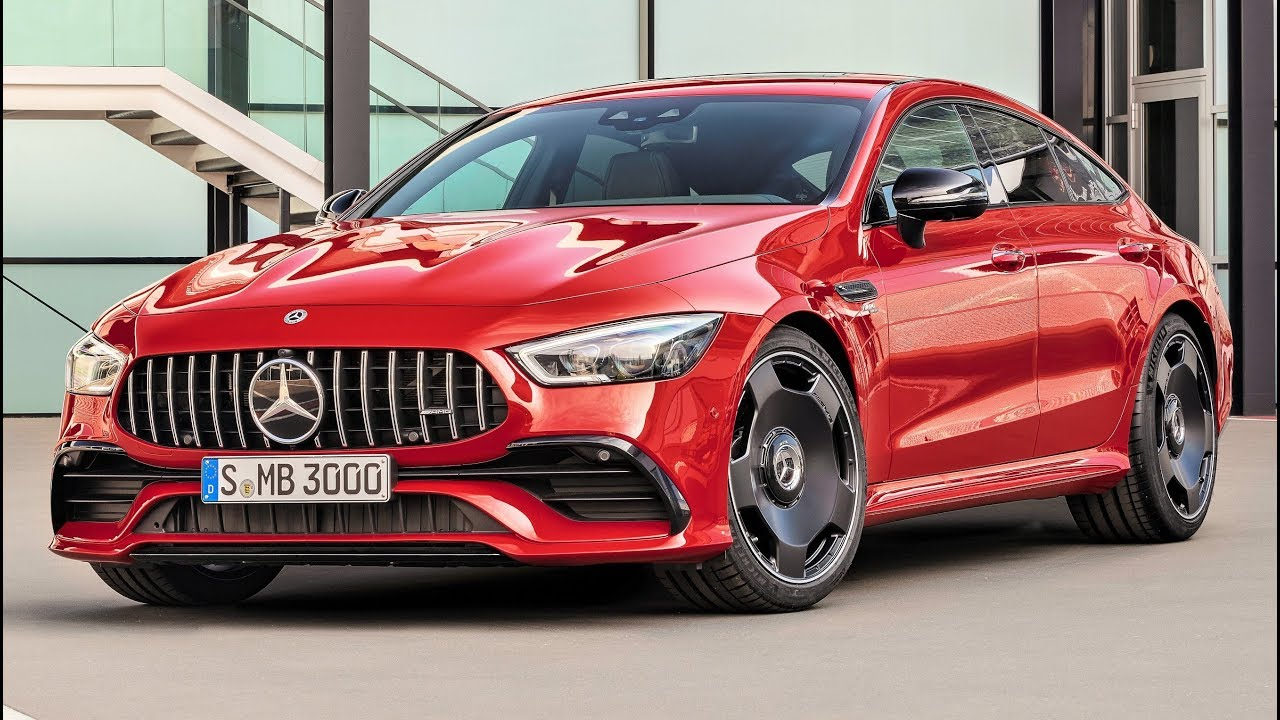 2019 mercedes gt 43 amg 4matic  4-door coupe - performance and ease in everyday use