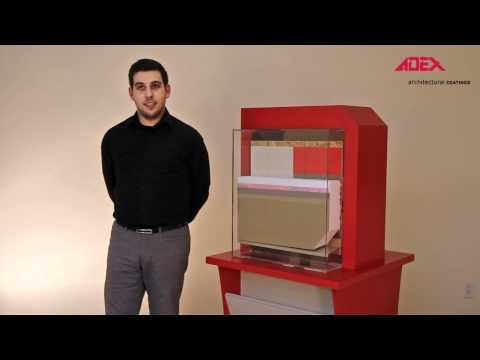 Adex Residential Exterior Insulation and Finish System explained