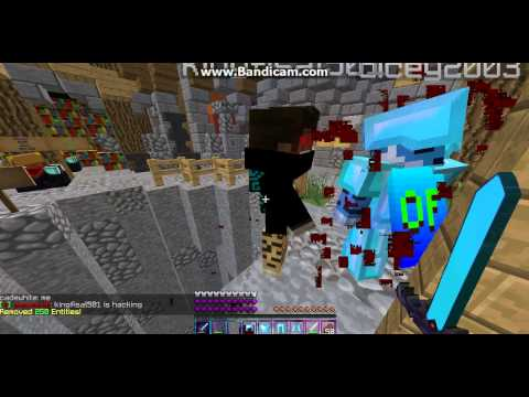 2 hackers: First: (Someone) using Kill aura Second: kingfisal501 Using aimbot (Both on Dancraft)