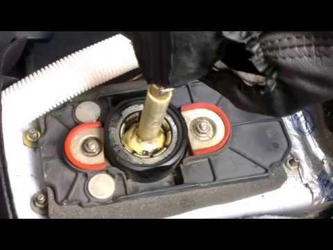 Устранение люфта кулисы 5ст. МКПП VW Passat B5