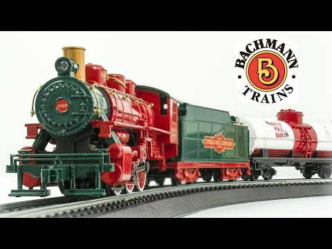 Bachmann HO Scale Jingle Bell Express Train Set Review