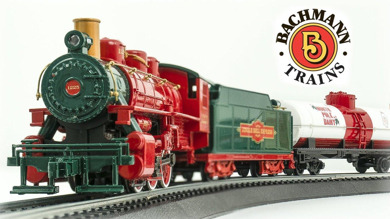 Bachmann HO Scale Jingle Bell Express Train Set Review - YouTube
