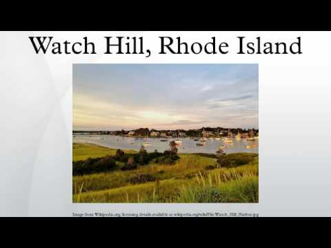 Watch Hill, Rhode Island